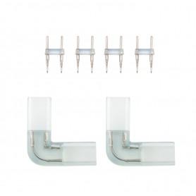 Connettore Tipo L Per Strisce LED 220V