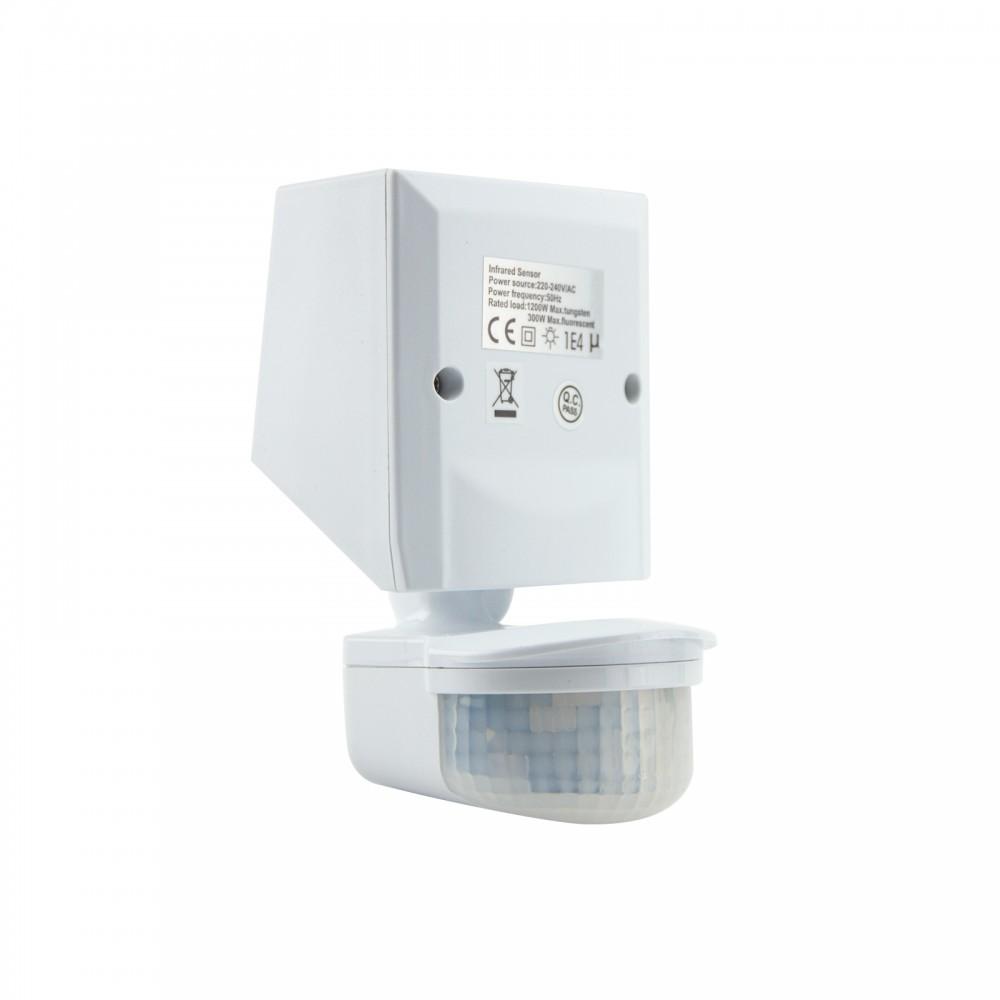 Sensore Accensione Lampade Con Crepuscolare.Sensore Di Movimento E Crepuscolare Ip65