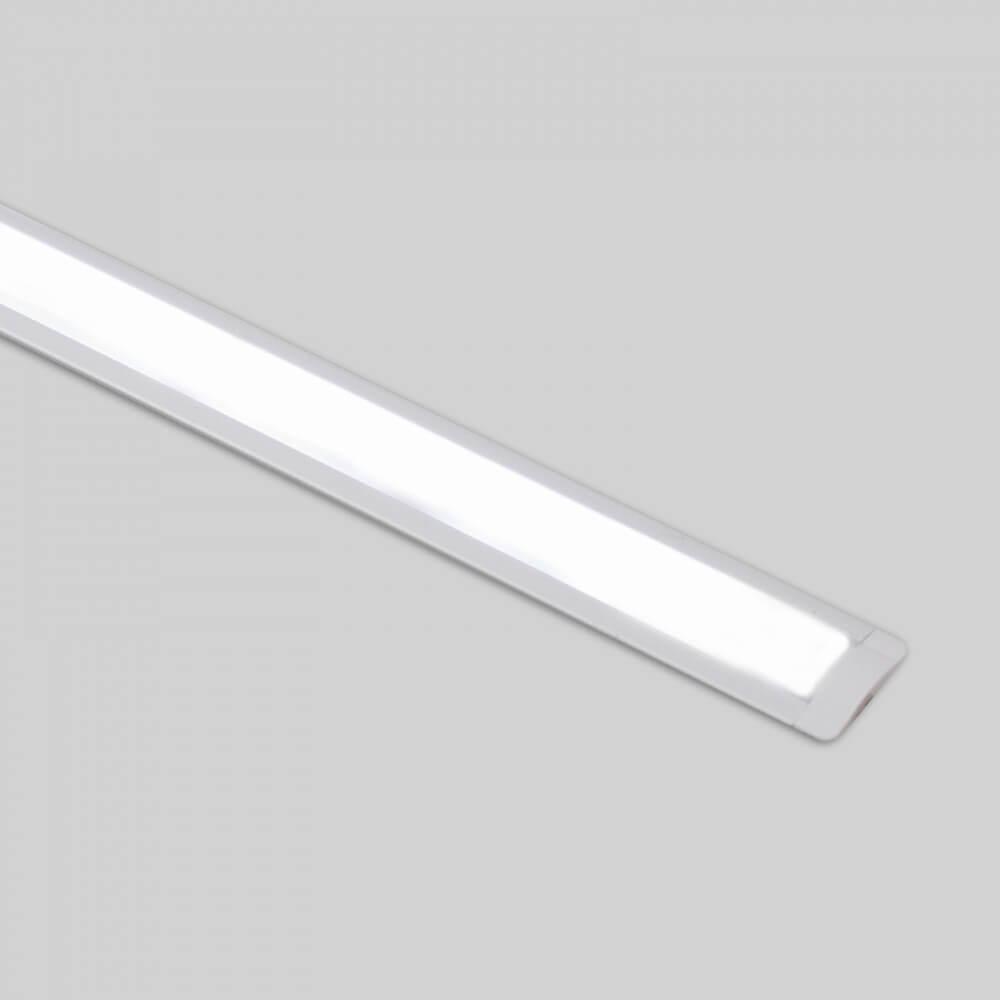 Profilo In Alluminio Da Incasso Bianco Per Striscia Led 1m E 2m