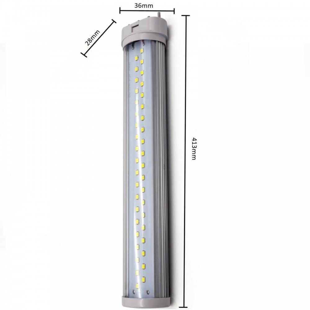 Schema Elettrico Lampada Led 220v : Lampada led w da mm g