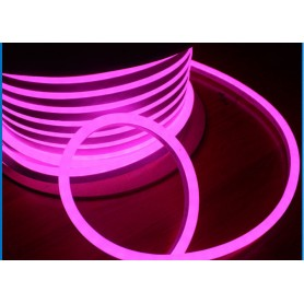 LED Neon Flex Professional Rosa 24V da 10 metri - Flessibile