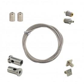 Kit Sospensione per profilo in alluminio (1,5m)