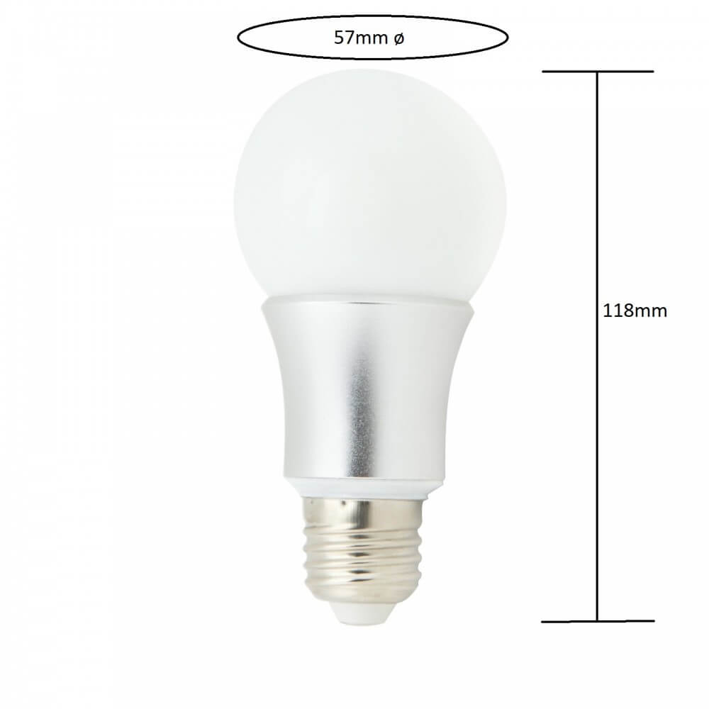 Lampadina led 9w e27 premium for Lampadina e27 led