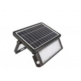 Faro LED 10W ad energia Solare - Professional - Incluso di Batteria