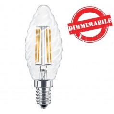 Lampadina LED a Filamento E14 Dimmerabile