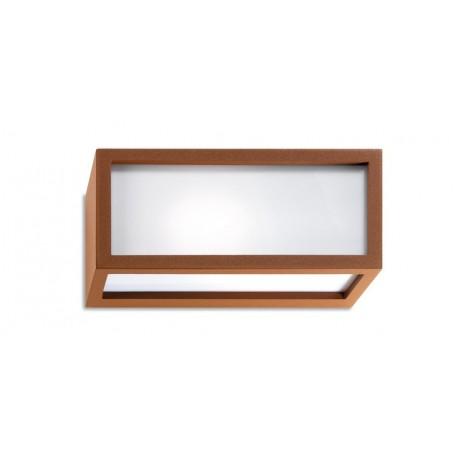 AppliqueFlute Design - E27 Mattone (Ruggine)