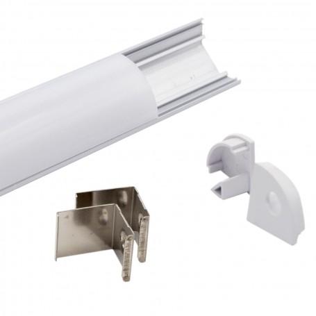 Profilo Angolare 1m e 2m (per striscia LED)