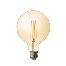 LFT42725D Globo dimmerabile a filamento LED 4W, E27, 2500K, 220V -240V AC, ambra