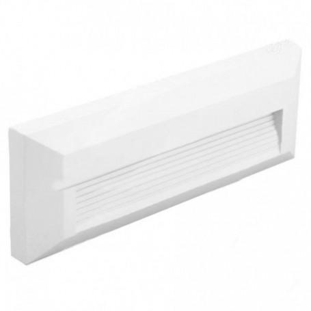 Segnapasso a muro 3W (senza incasso), colore bianco, dimensioni 150x60x28mm