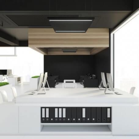 Pannello LED da Incasso 60x60 44W B. Naturale Antiabbagliamento 5.300lm - NERO