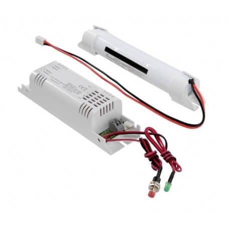 Modulo alimentazione di emergenza D4 / A MT 2H (applicazione - pannello led / plafoniera led, range 24V-48V + pulsante test)