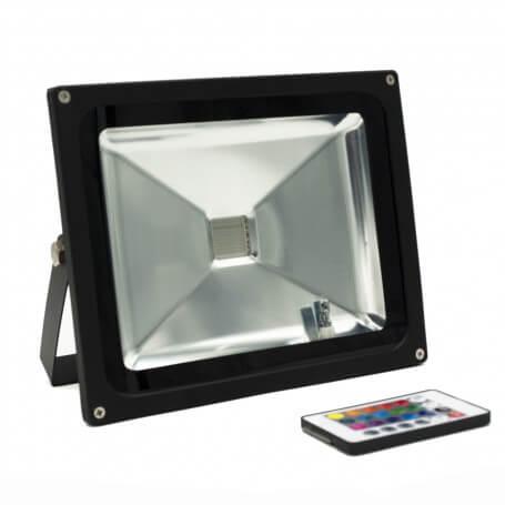 Faro LED 30W -RGB - Cambiacolore- Premium